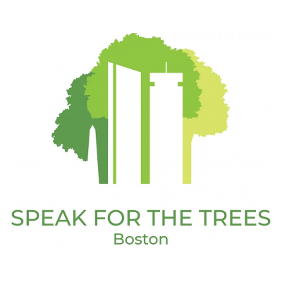 speak for the trees boston logo