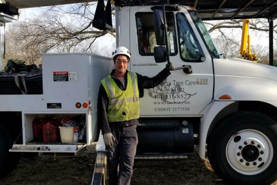 Work Day: T.F. Morra Tree Care Bucket Truck with Tom Morra, Owner